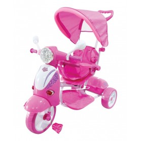 TRICICLO SCOOTER COL.ROSA