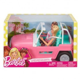 BARBIE DOLL AND VEHICLE
